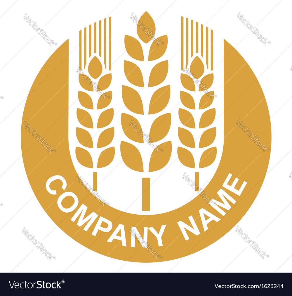 Wheat logo vector | Price: 1 Credit (USD $1)