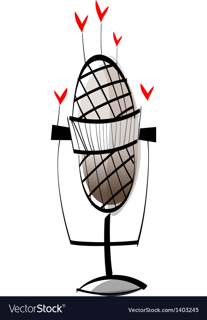 A microphone vector