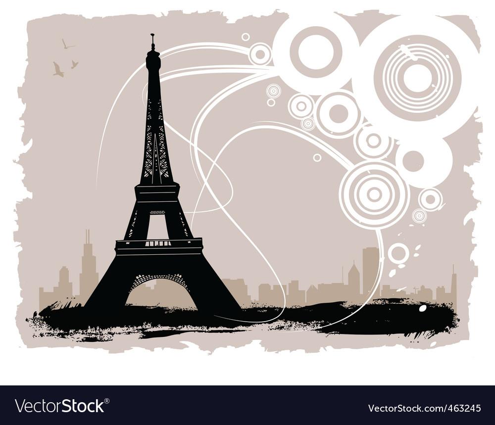 Eiffel tower vector   Price: 1 Credit (USD $1)