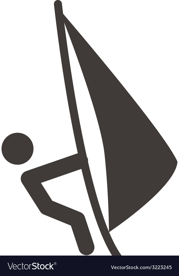 Sailing icon vector | Price: 1 Credit (USD $1)