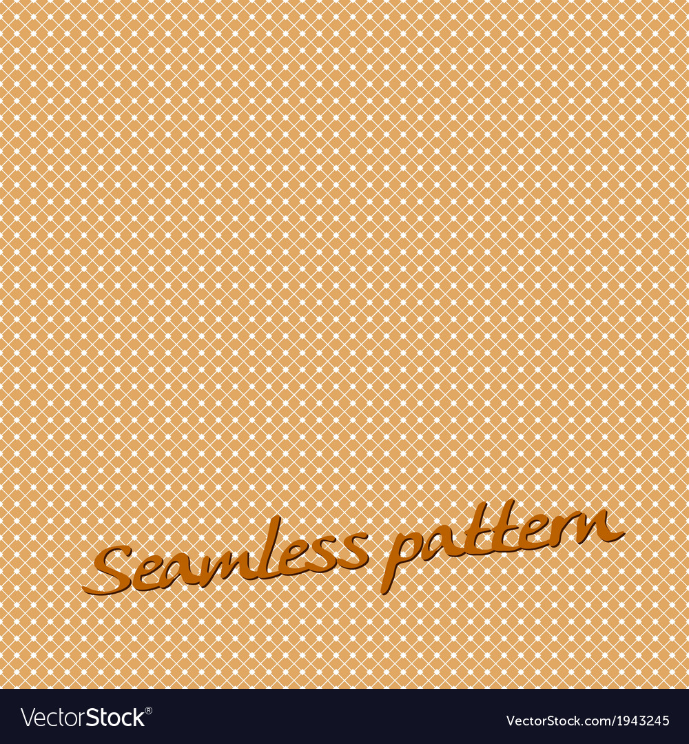 Seamless pattern lines orange with text vector | Price: 1 Credit (USD $1)