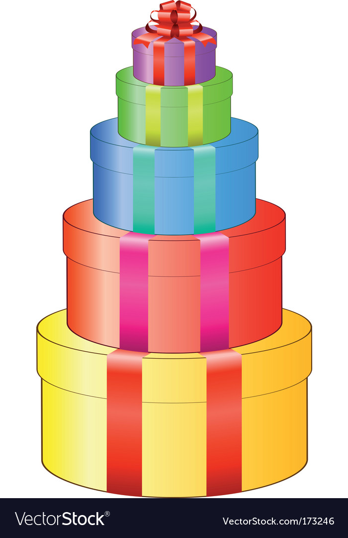 Gift box set vector | Price: 1 Credit (USD $1)