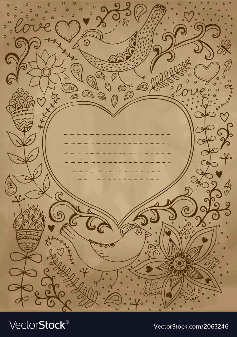 Vintage retro background with floral ornament and vector | Price: 1 Credit (USD $1)
