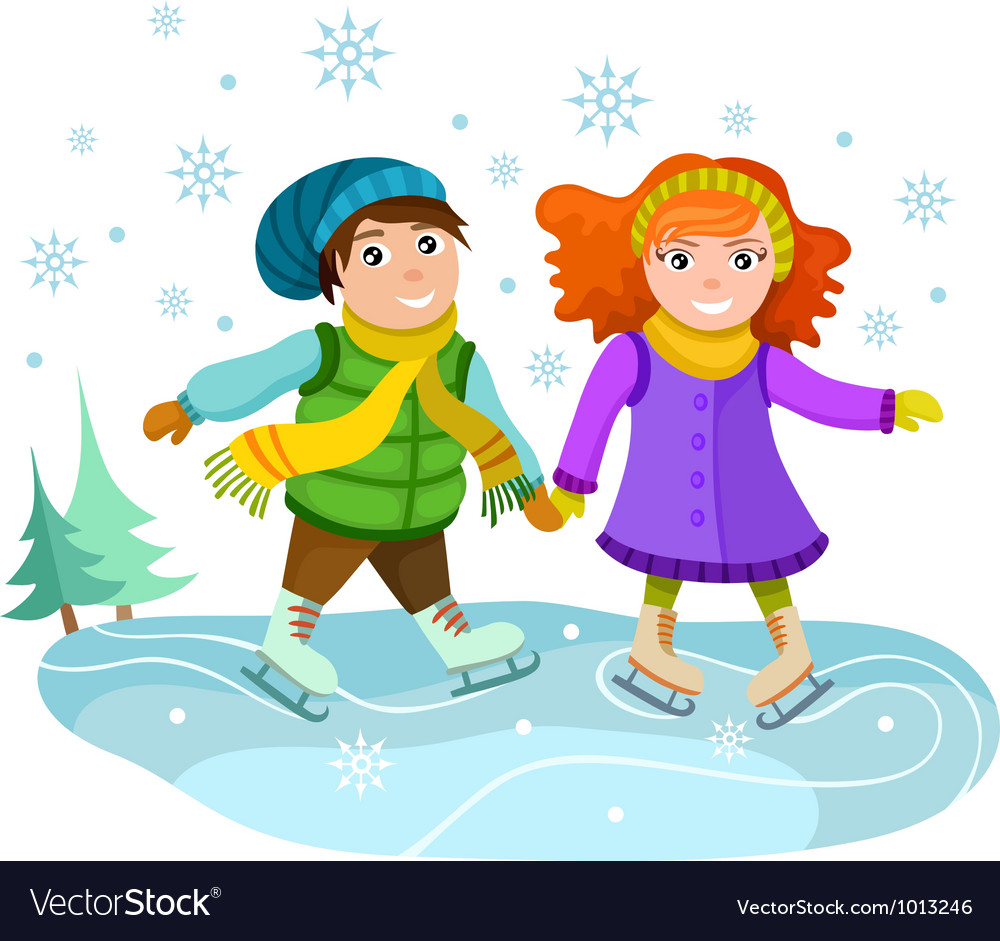 Winter card vector | Price: 3 Credit (USD $3)