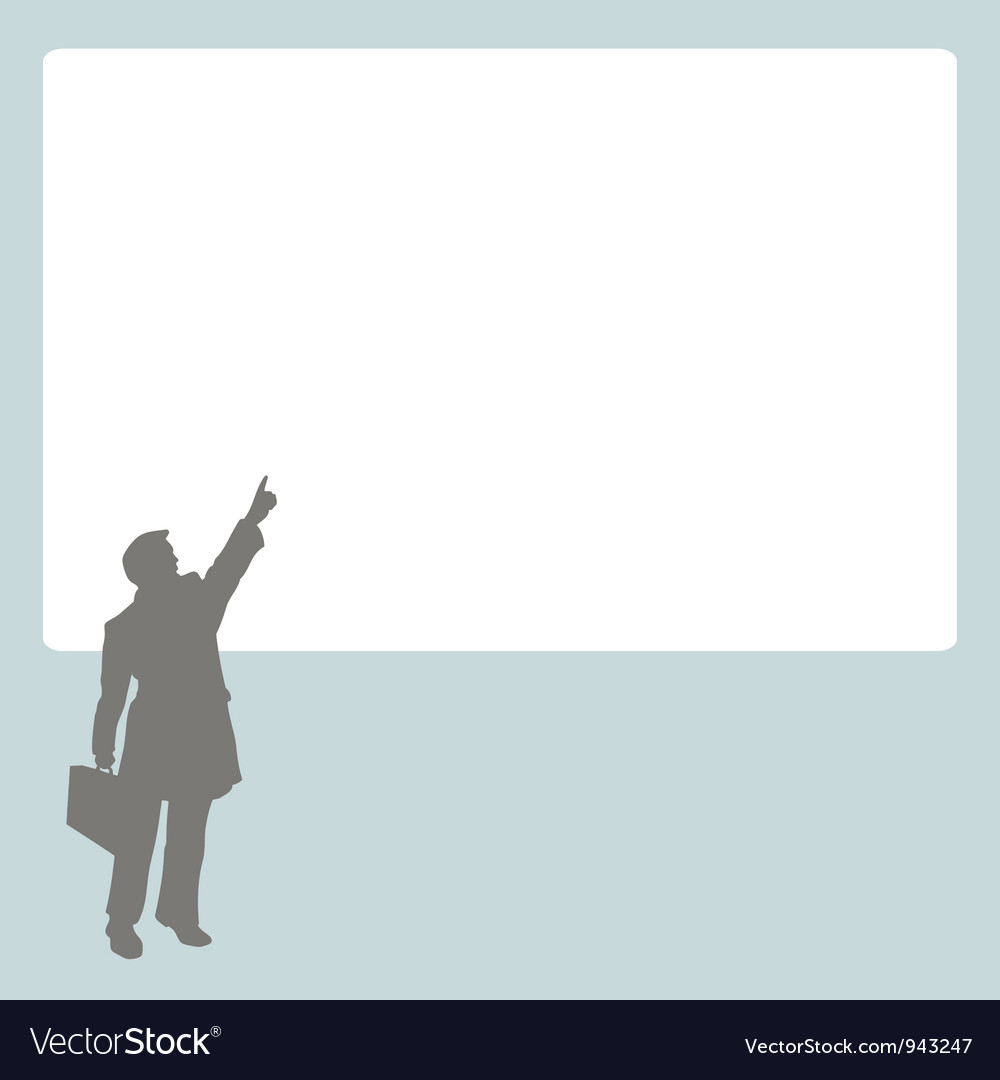 Person at stand vector | Price: 1 Credit (USD $1)