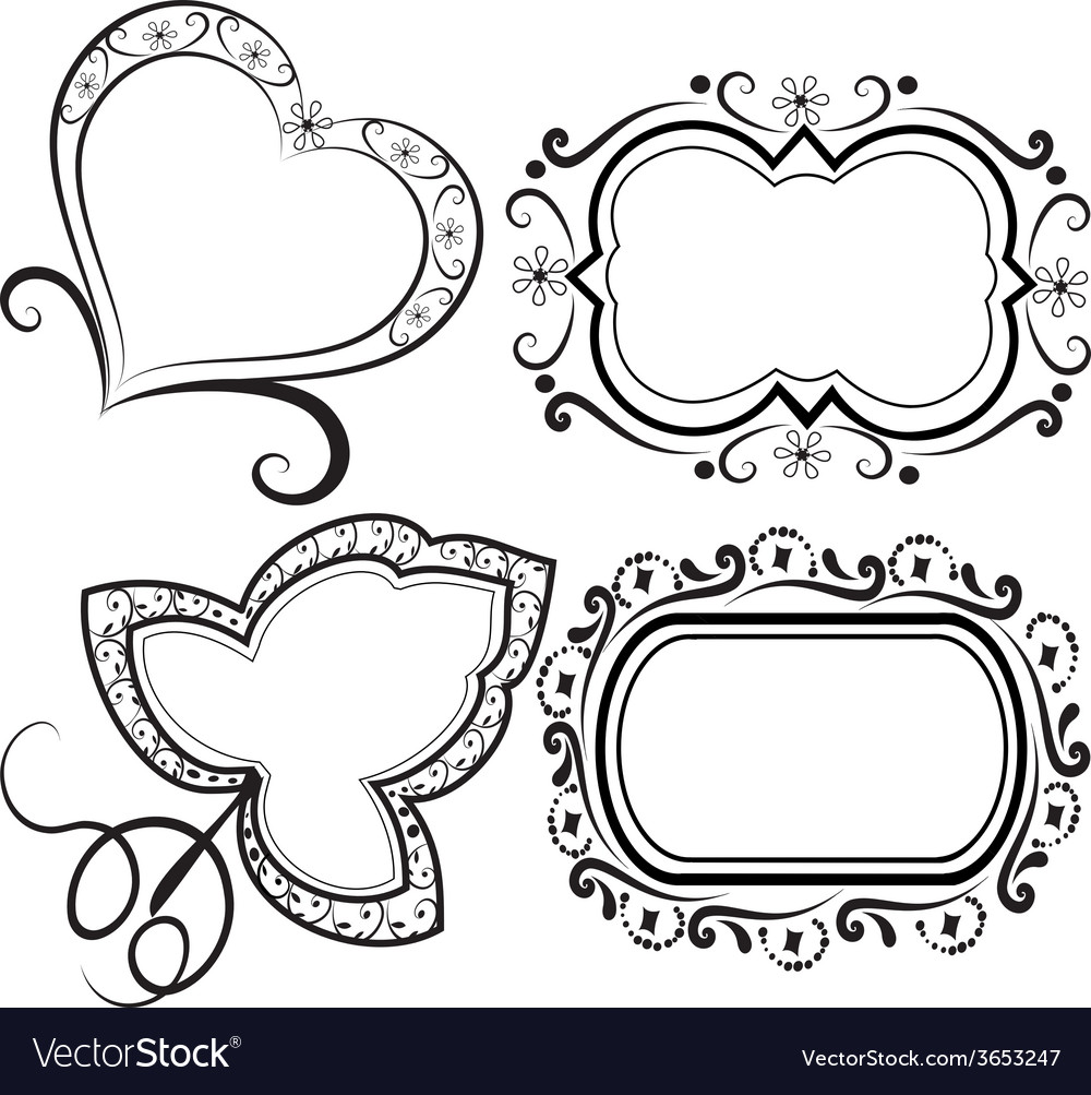 Set frames vector | Price: 1 Credit (USD $1)