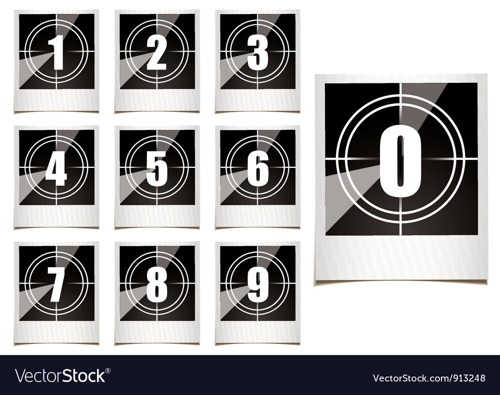 Photo countdown vector | Price: 1 Credit (USD $1)