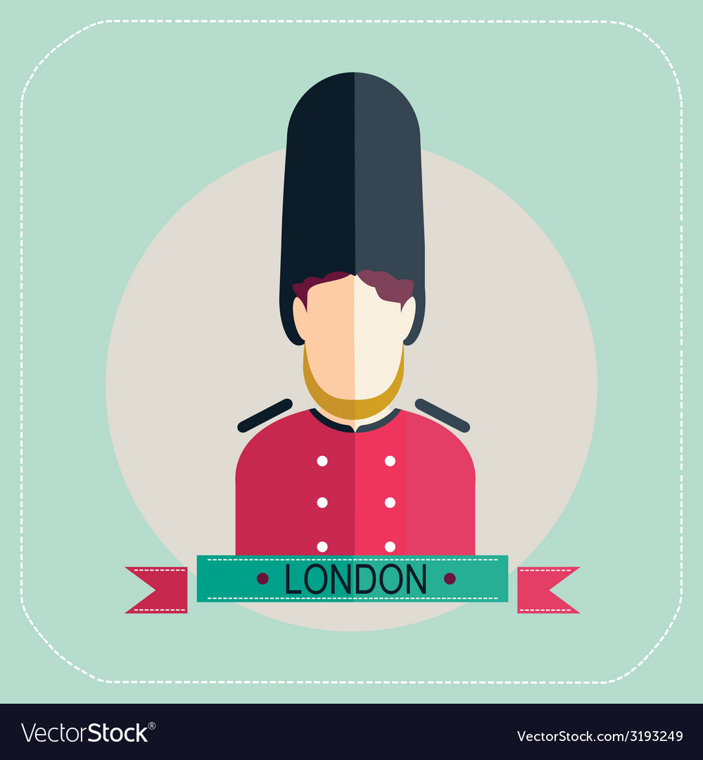 Royal guard icon vector | Price: 1 Credit (USD $1)