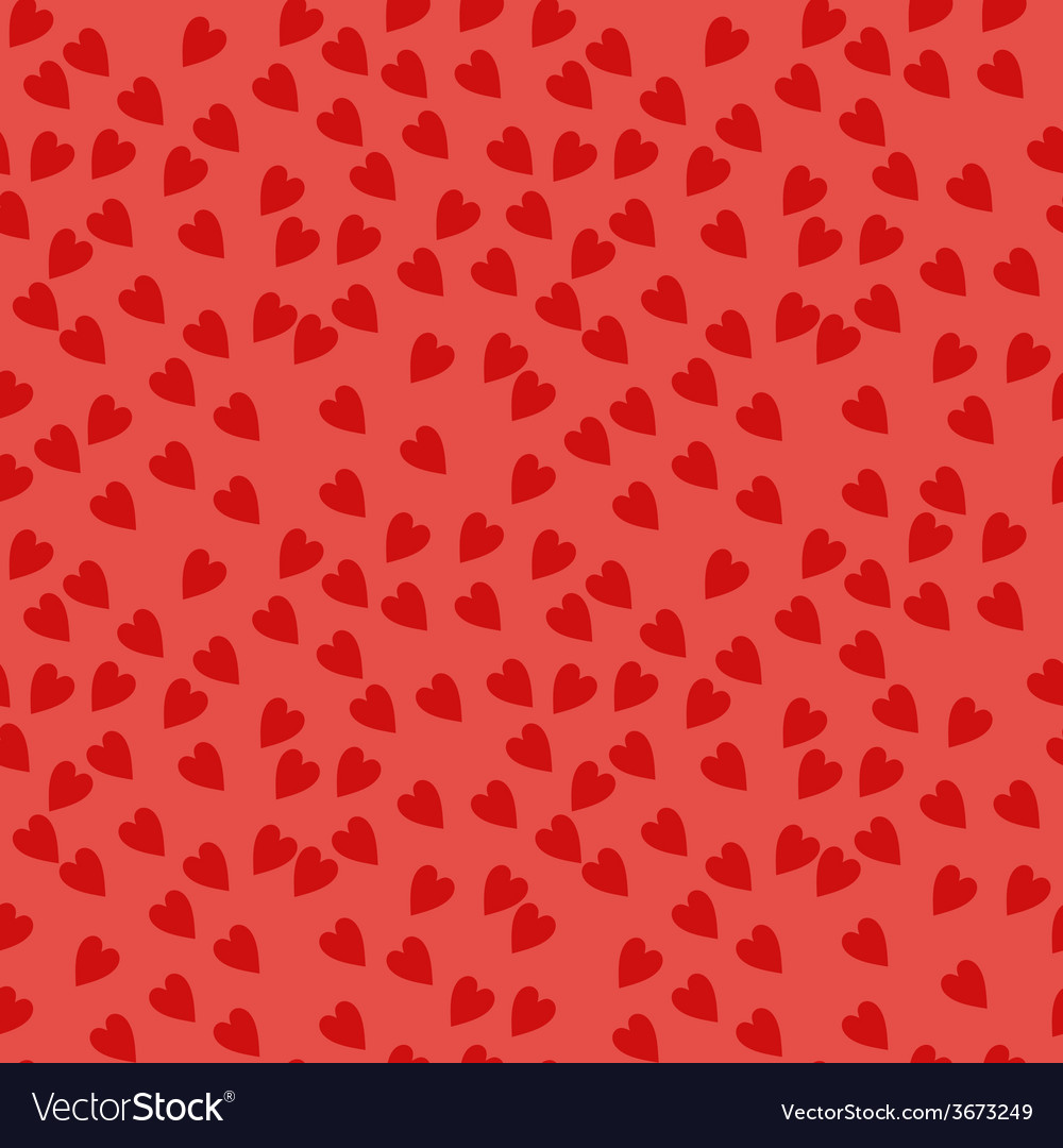 Seamless pattern with hearts background for vector