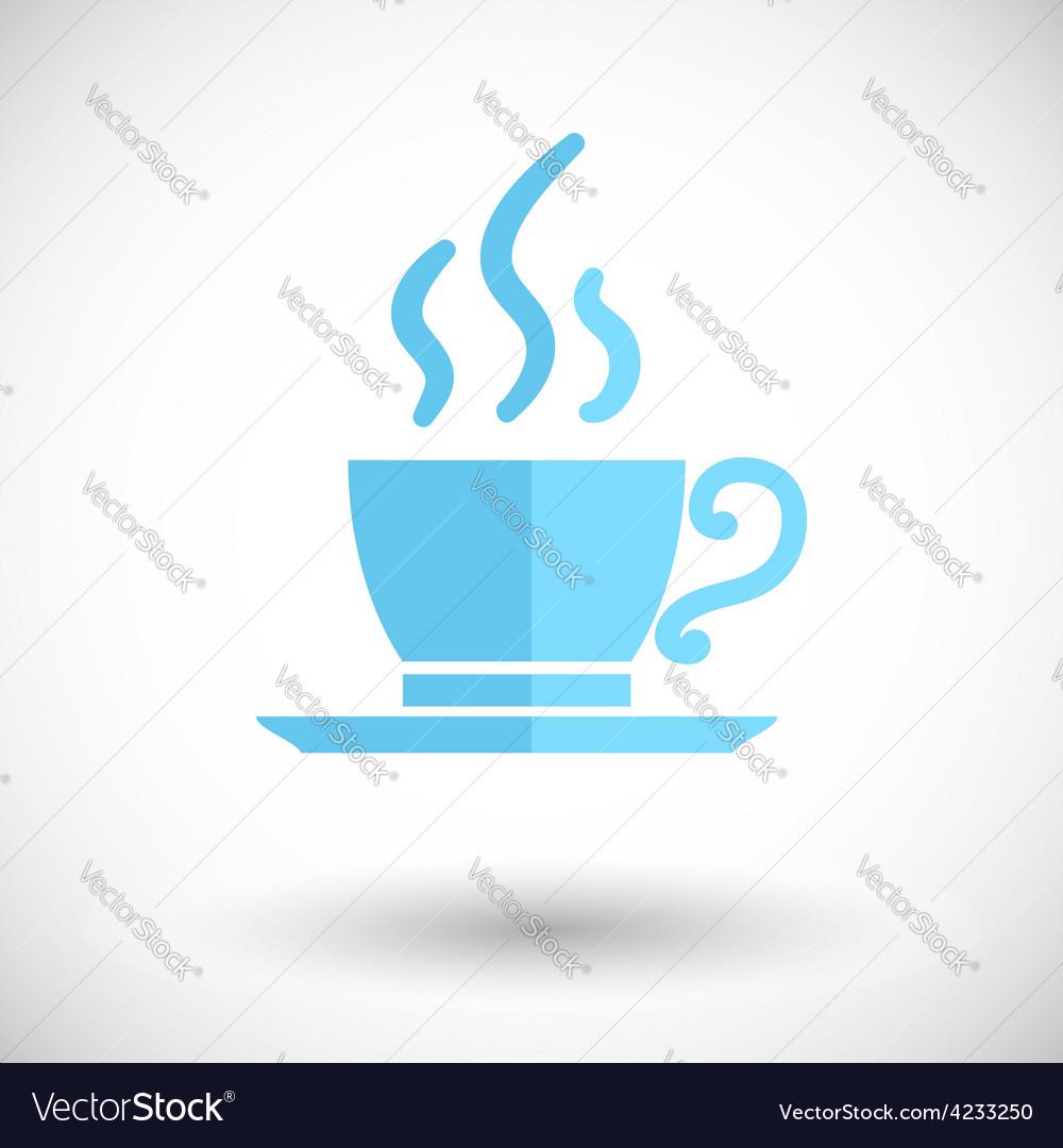 Cafe single icon vector | Price: 1 Credit (USD $1)