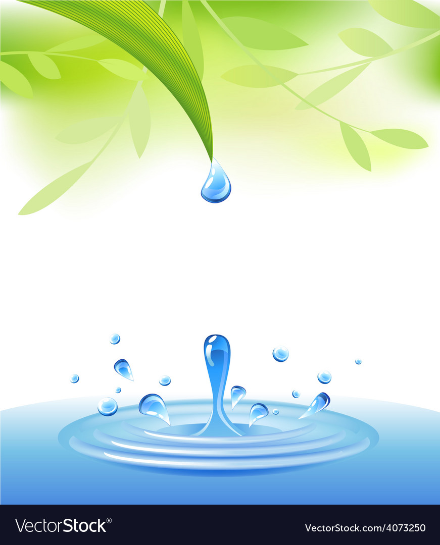 Clear water vector | Price: 3 Credit (USD $3)