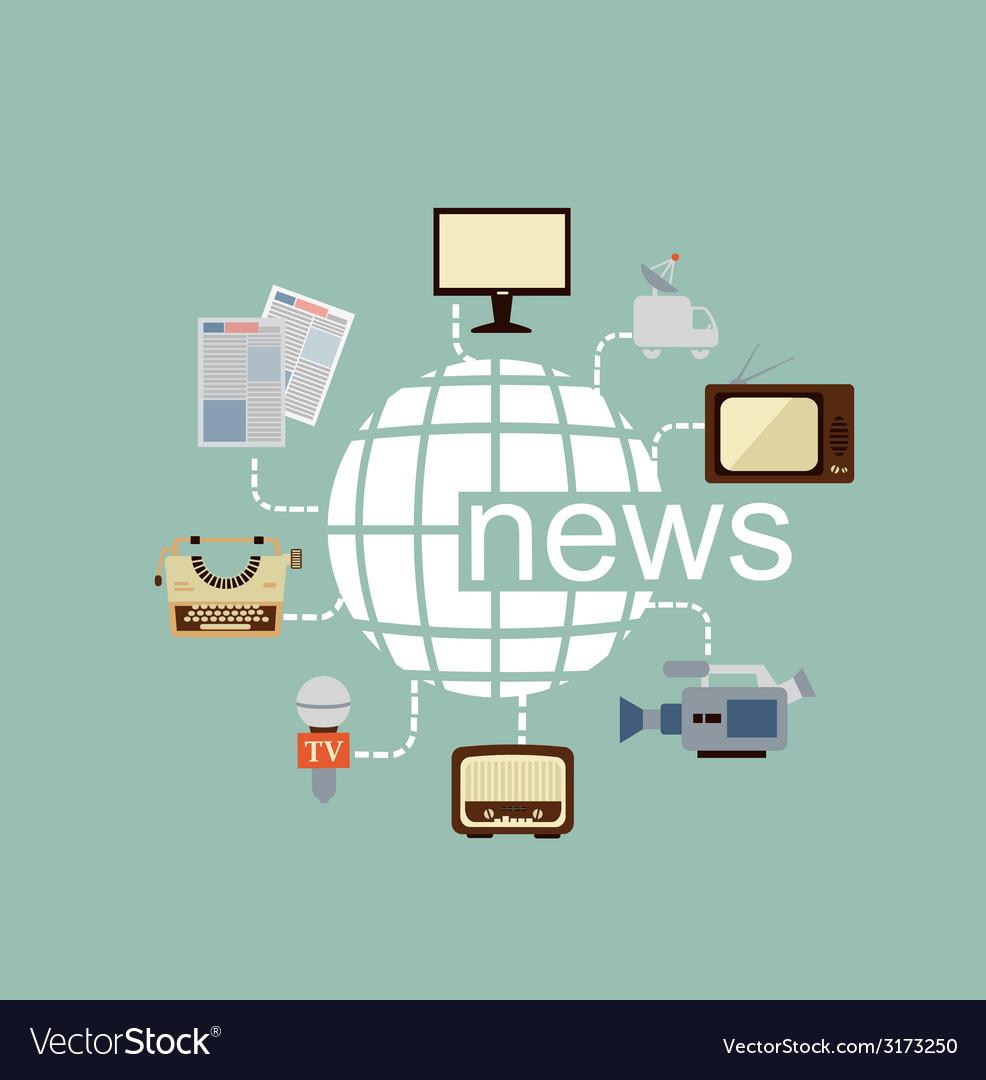 Journalist vector | Price: 1 Credit (USD $1)