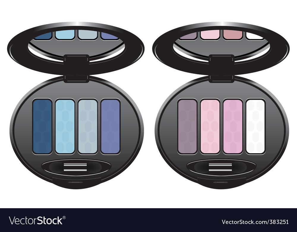 Eye shadows vector | Price: 1 Credit (USD $1)