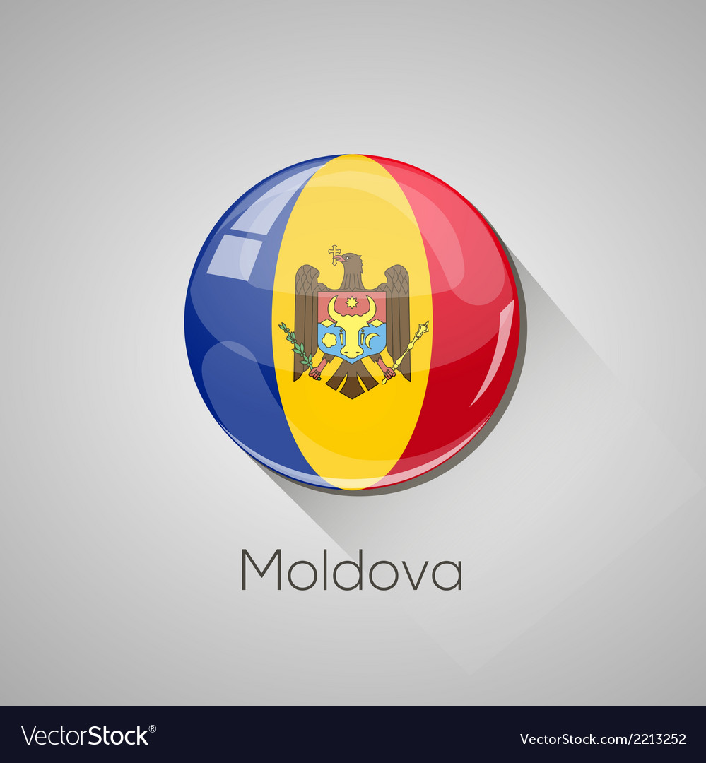 European flags set - moldova vector | Price: 1 Credit (USD $1)