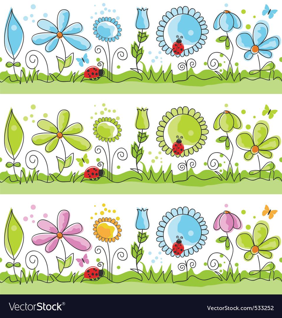 Floral decorative lines vector   Price: 1 Credit (USD $1)