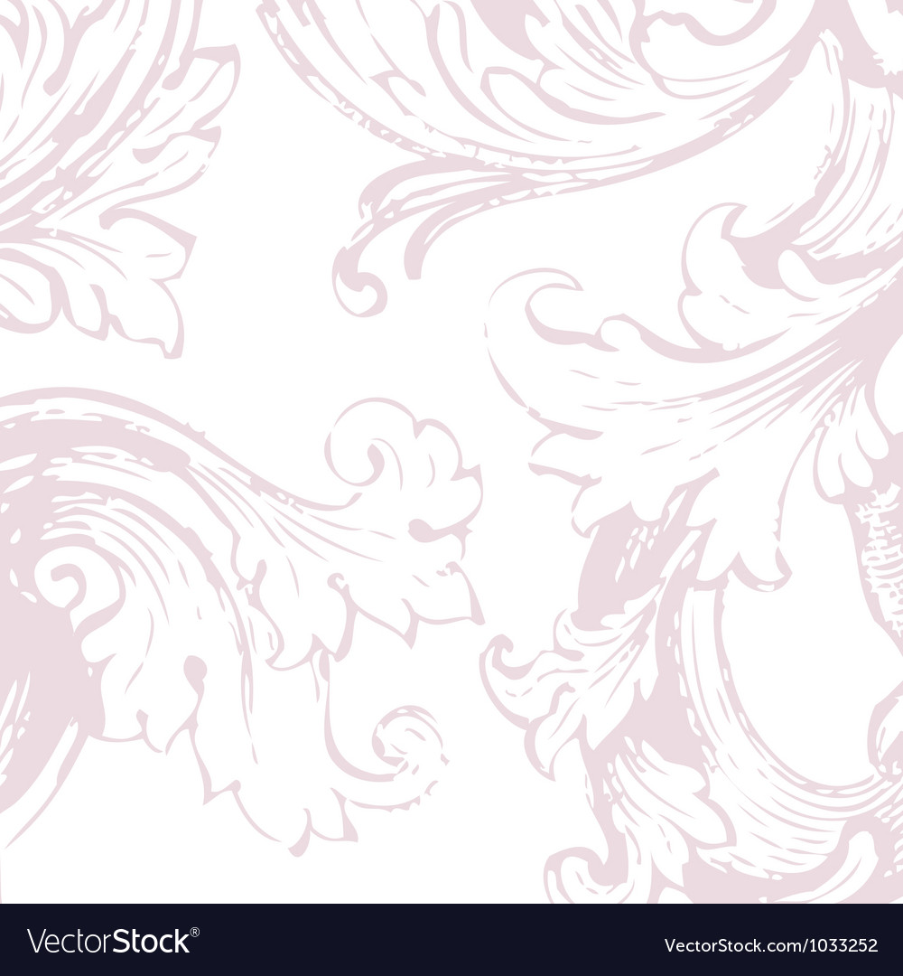 Floral vine background vector | Price: 1 Credit (USD $1)