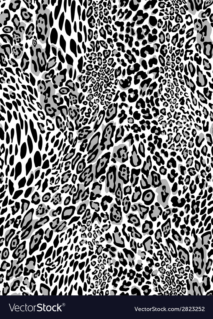 Seamless leopard pattern vector | Price: 1 Credit (USD $1)
