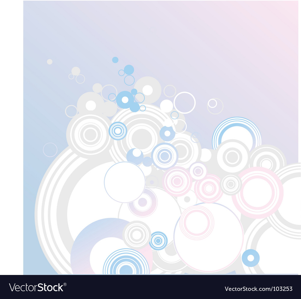 Circle background vector | Price: 1 Credit (USD $1)