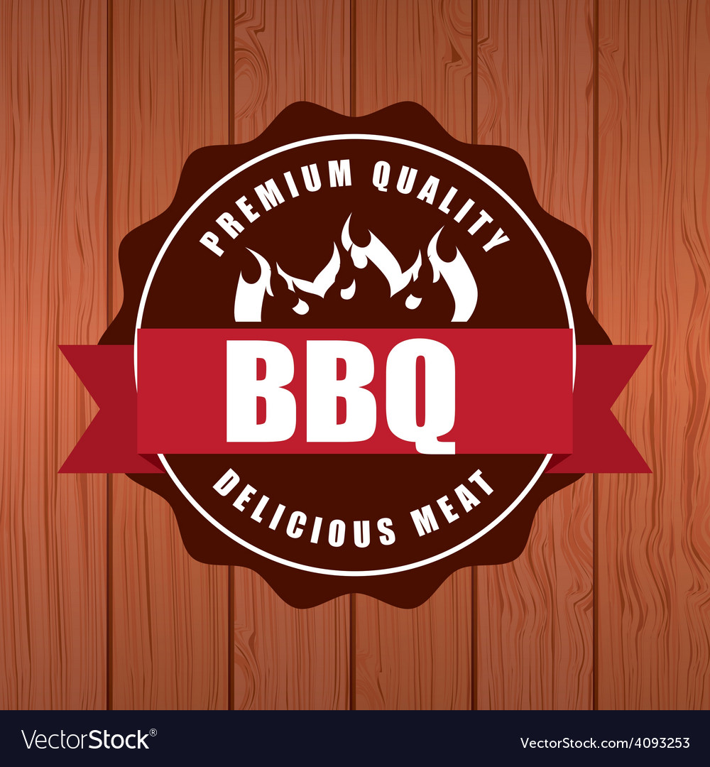 Delicious barbecue barbeque vector | Price: 1 Credit (USD $1)