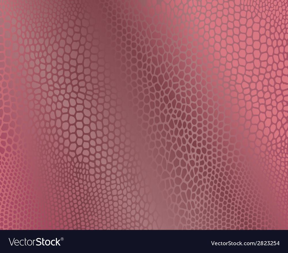 Pink snake skin imitation background vector | Price: 1 Credit (USD $1)