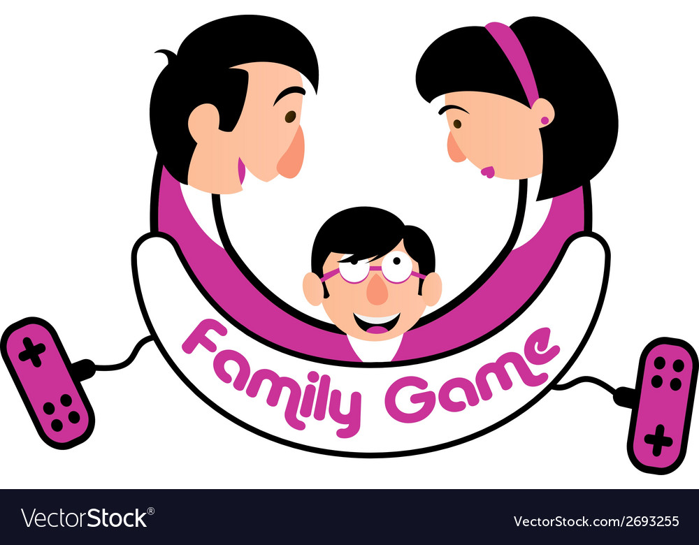 Family game console vector | Price: 1 Credit (USD $1)