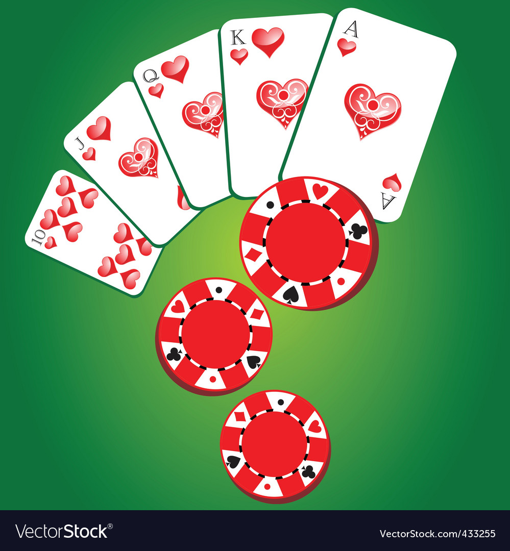 Gambling background vector | Price: 1 Credit (USD $1)