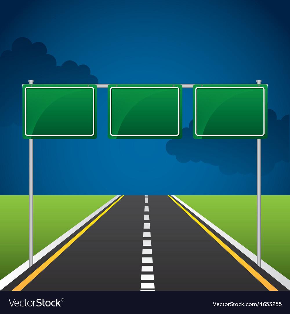 Highway road vector   Price: 1 Credit (USD $1)