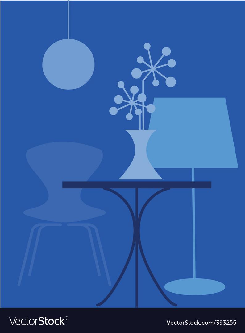 Interior furniture vector | Price: 1 Credit (USD $1)
