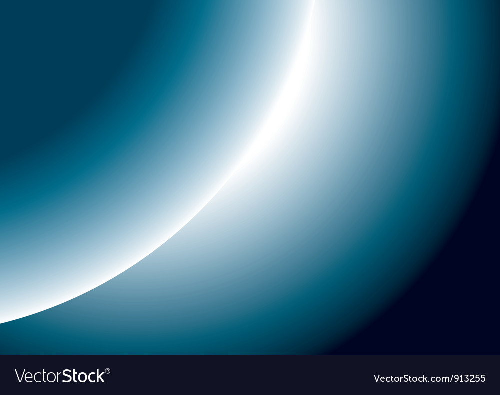 Planet rise vector | Price: 1 Credit (USD $1)