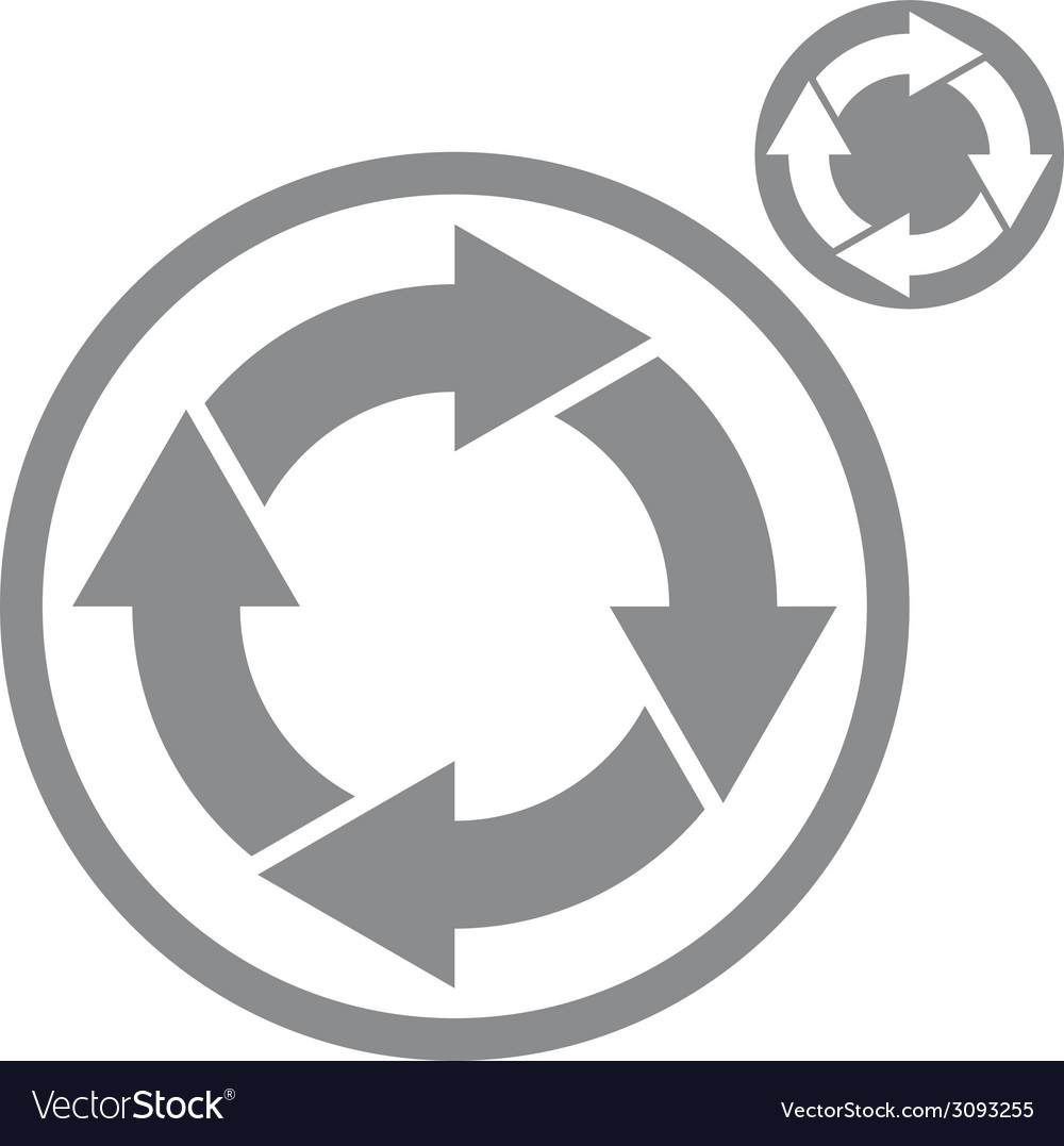 Reload refresh arrows loop simple single color vector | Price: 1 Credit (USD $1)