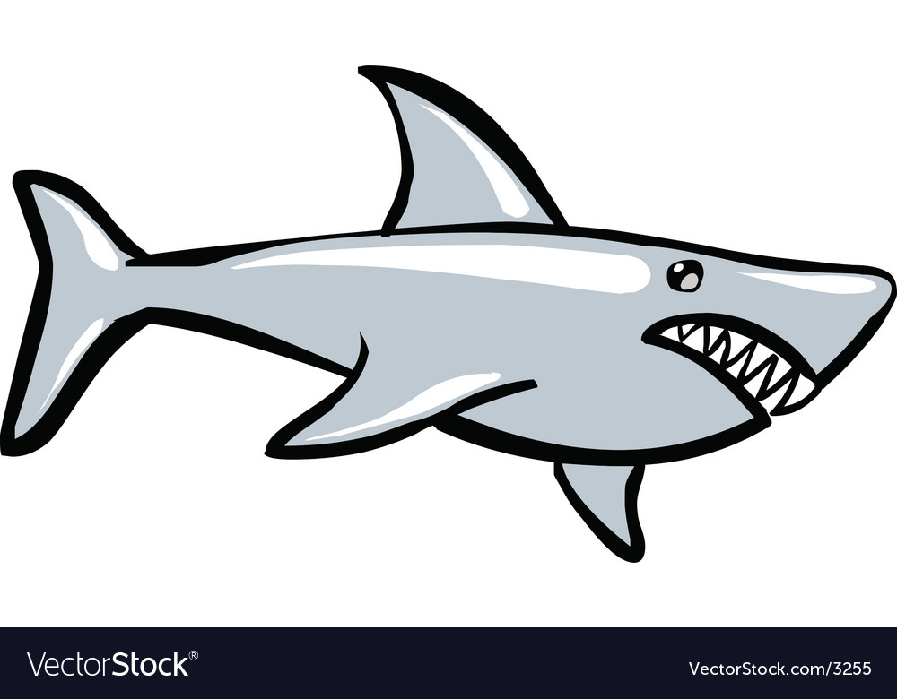 Shark predator vector | Price: 1 Credit (USD $1)