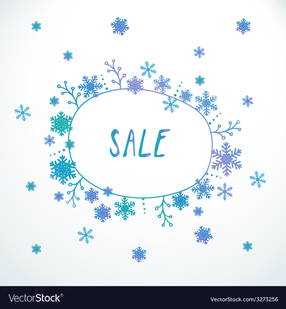 Cute doodle sale banner vector | Price: 1 Credit (USD $1)
