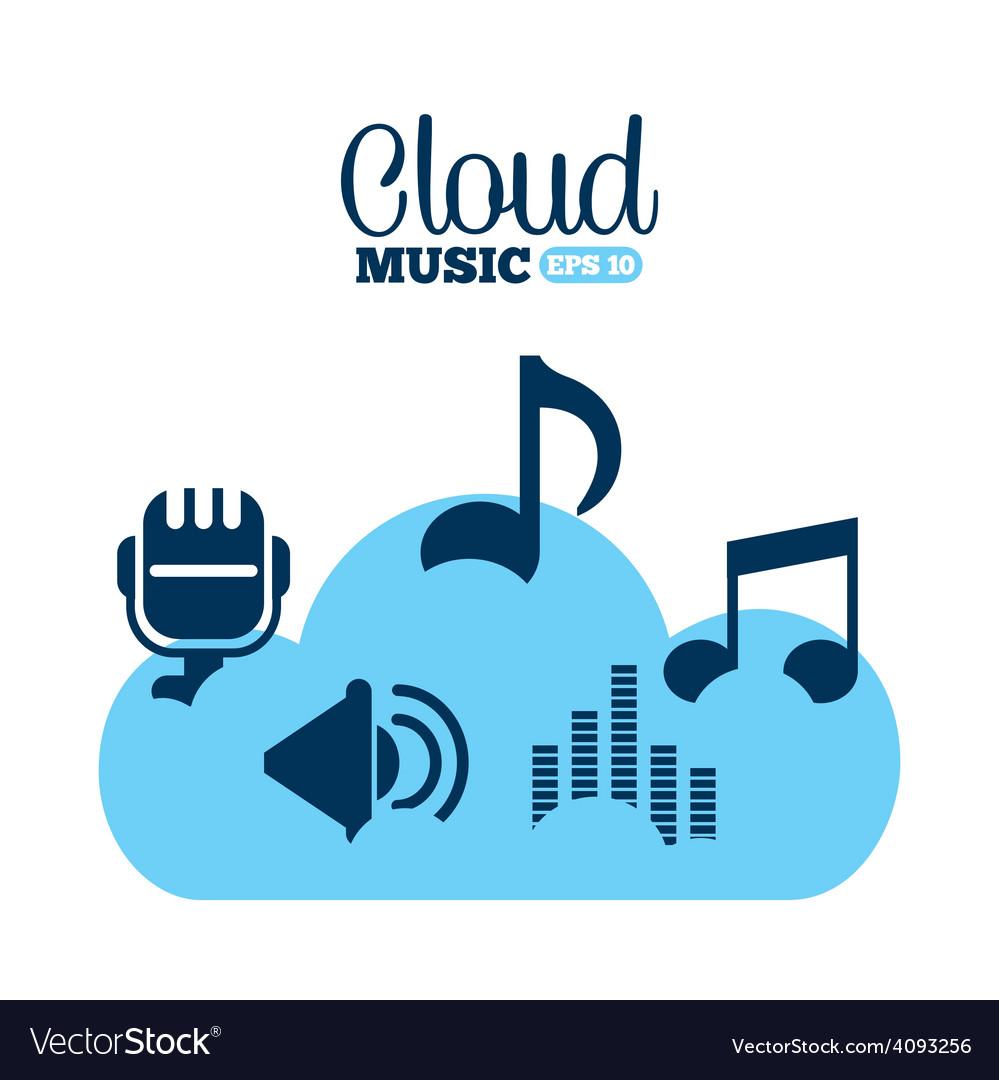 Digital music vector   Price: 1 Credit (USD $1)