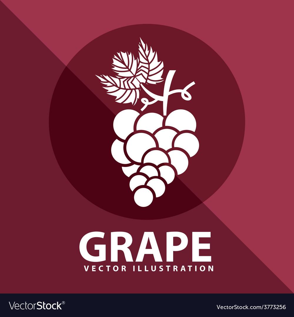 Grape icon design vector   Price: 1 Credit (USD $1)