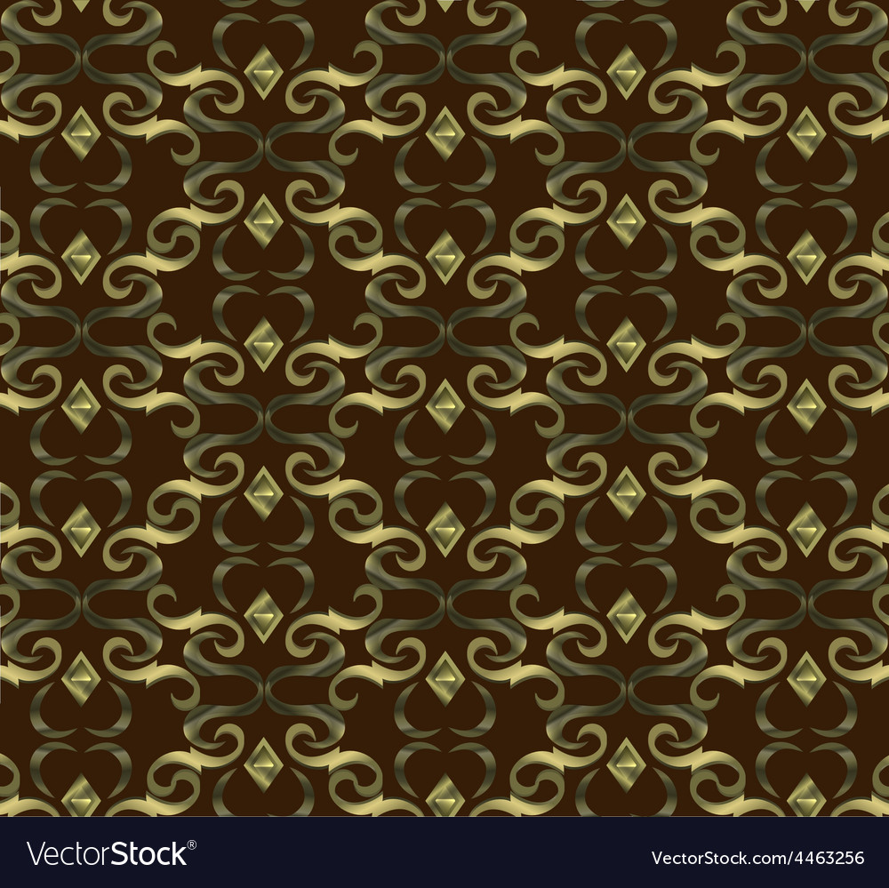 Seamless expensive victorian pattern in retro vector | Price: 1 Credit (USD $1)