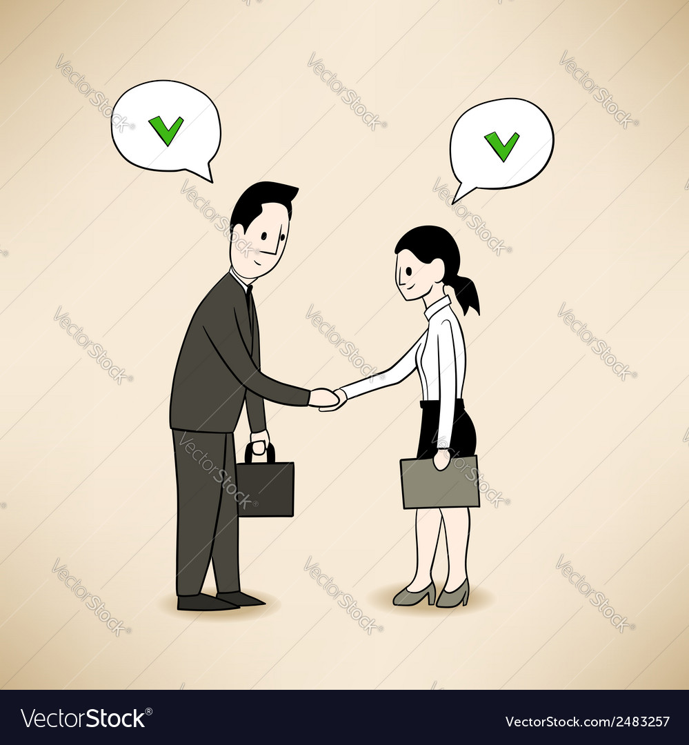 Agreement vector | Price: 1 Credit (USD $1)