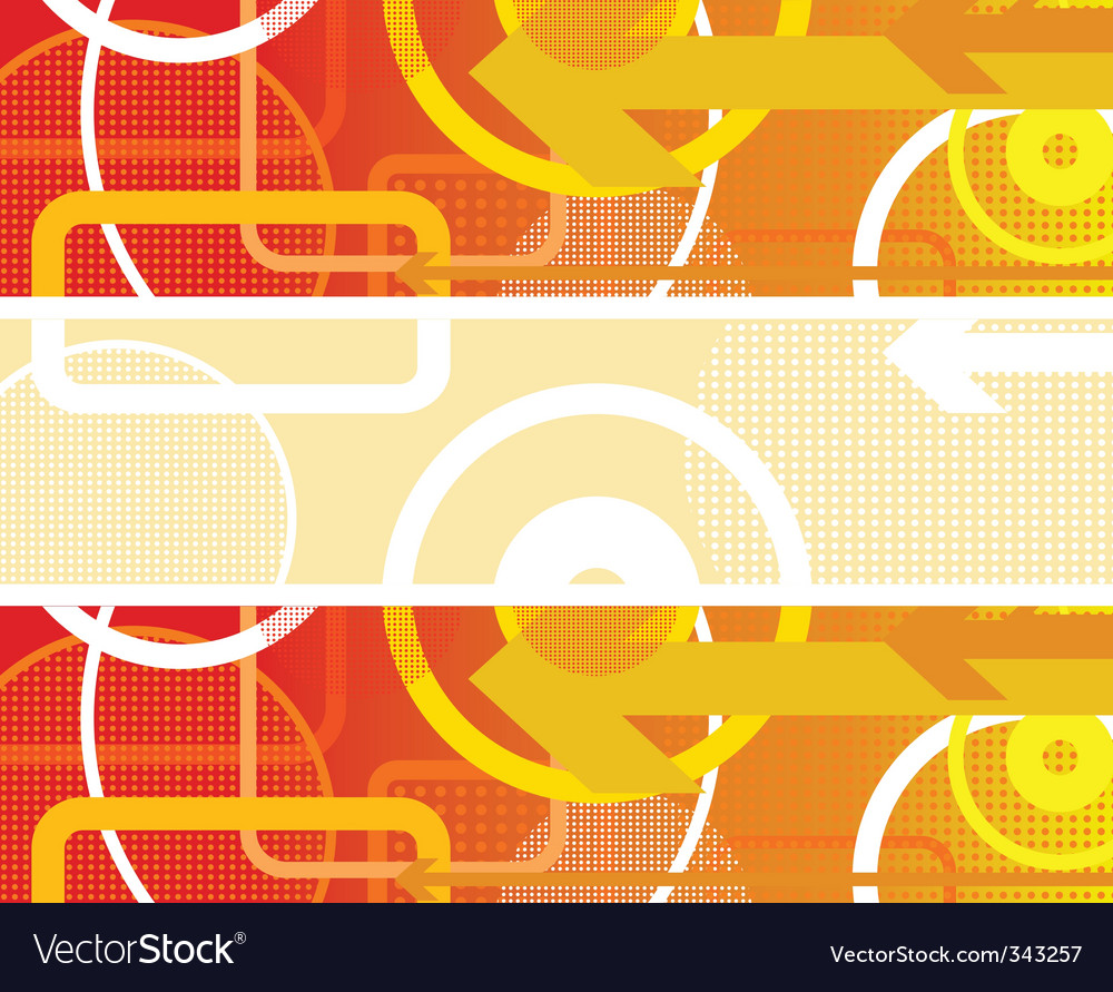 Circles background red vector | Price: 1 Credit (USD $1)