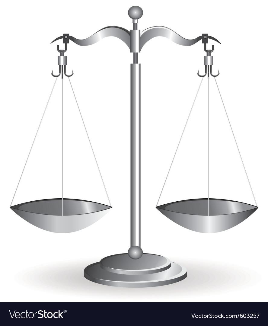 Metal balance vector | Price: 1 Credit (USD $1)