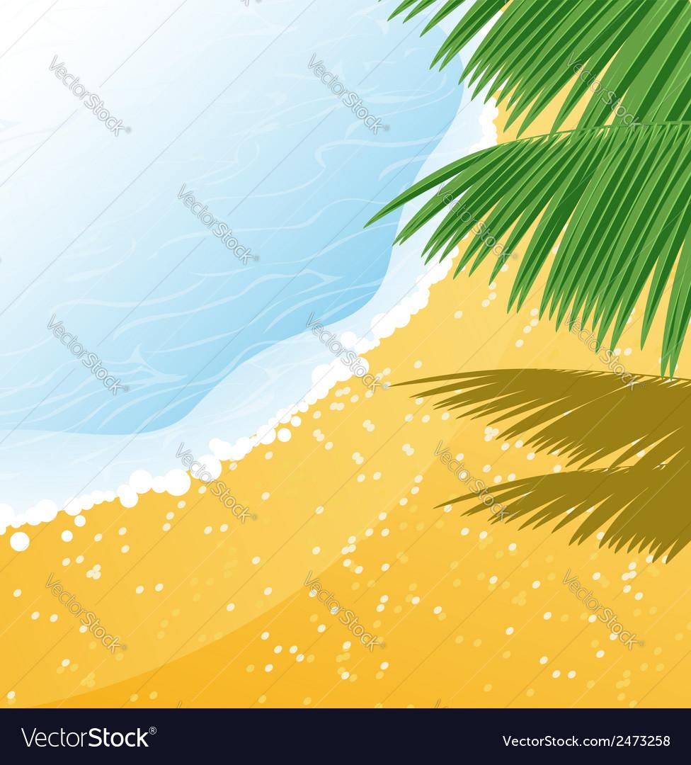 Seashore vector | Price: 1 Credit (USD $1)