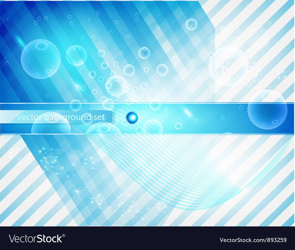 Abstract line and stripe blue curve vector | Price: 1 Credit (USD $1)
