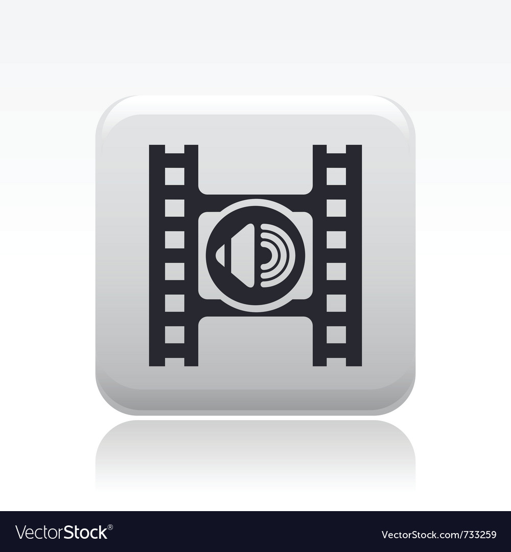 Audio icon vector | Price: 1 Credit (USD $1)