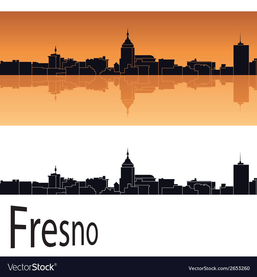 Fresno skyline vector | Price: 1 Credit (USD $1)