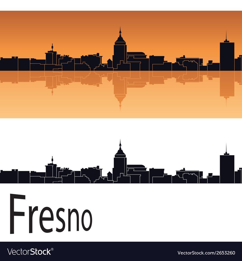 Fresno skyline vector | Price: 1 Credit (USD $1)