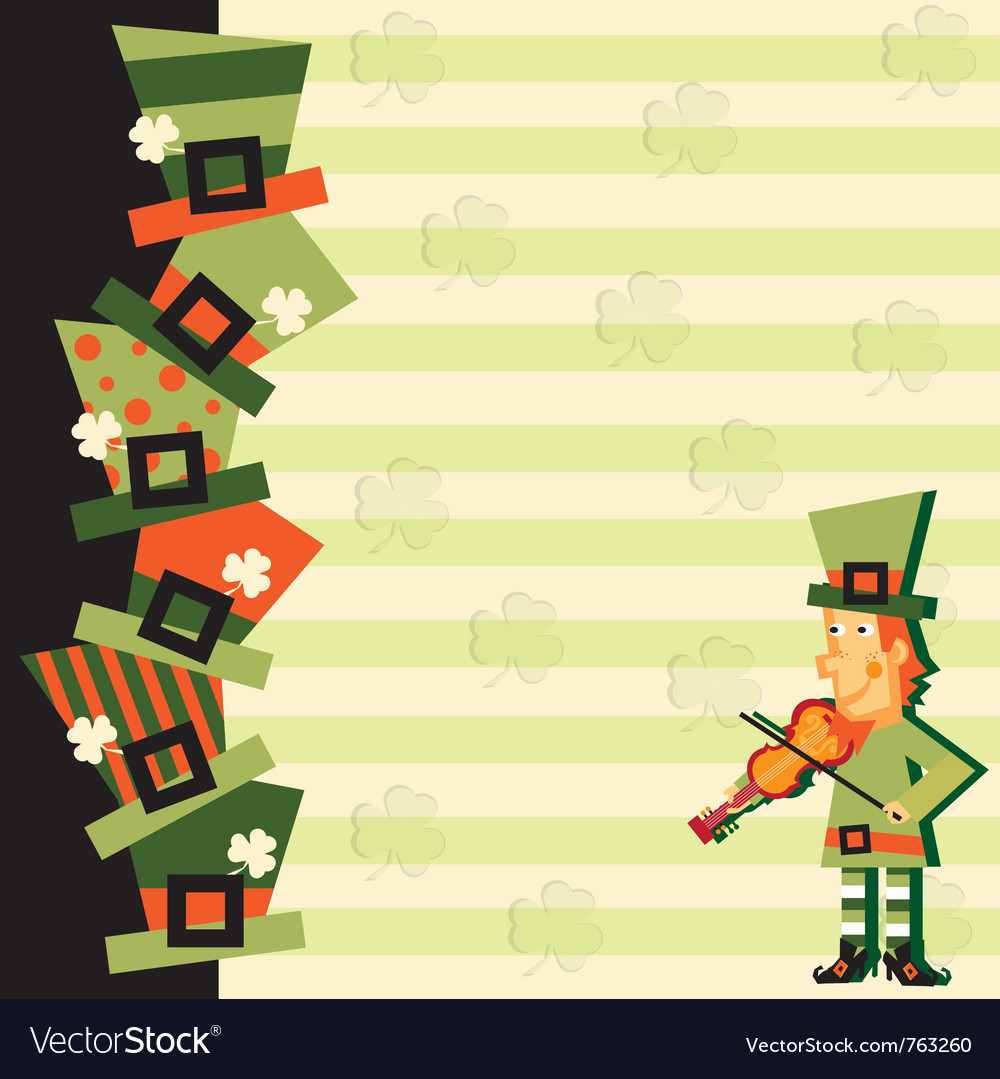 St patrick s day party vector | Price: 1 Credit (USD $1)