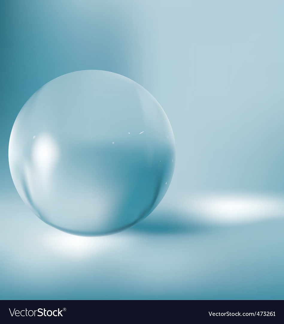 3d glass ball vector | Price: 1 Credit (USD $1)