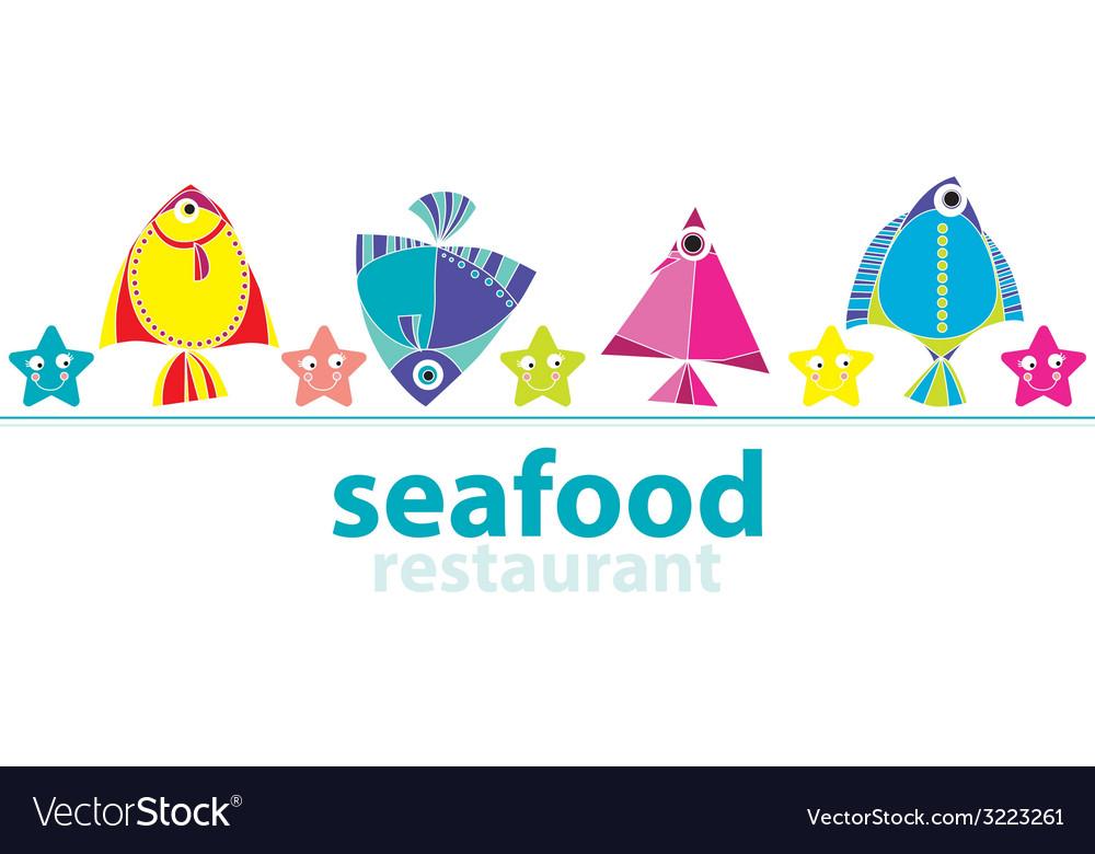 Seafood restaurant vector | Price: 1 Credit (USD $1)