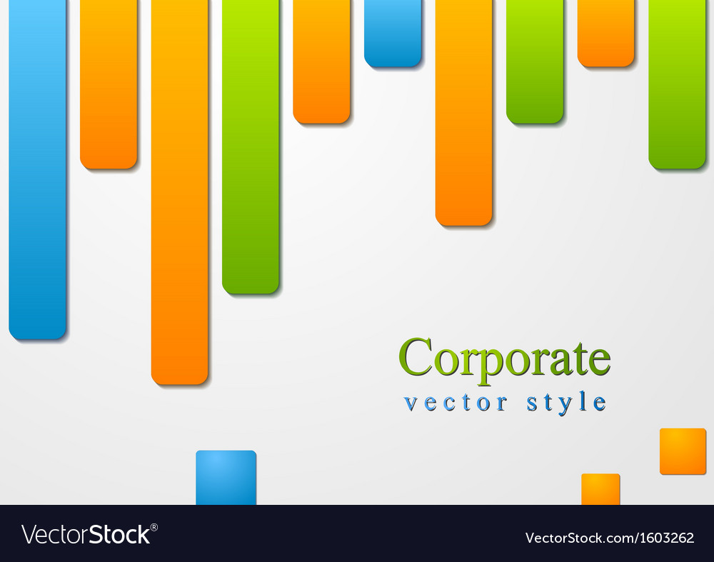 Abstract colourful shapes design vector | Price: 1 Credit (USD $1)
