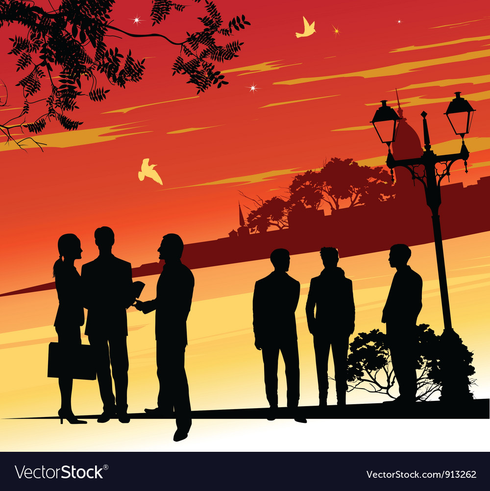 Group of business people vector   Price: 1 Credit (USD $1)