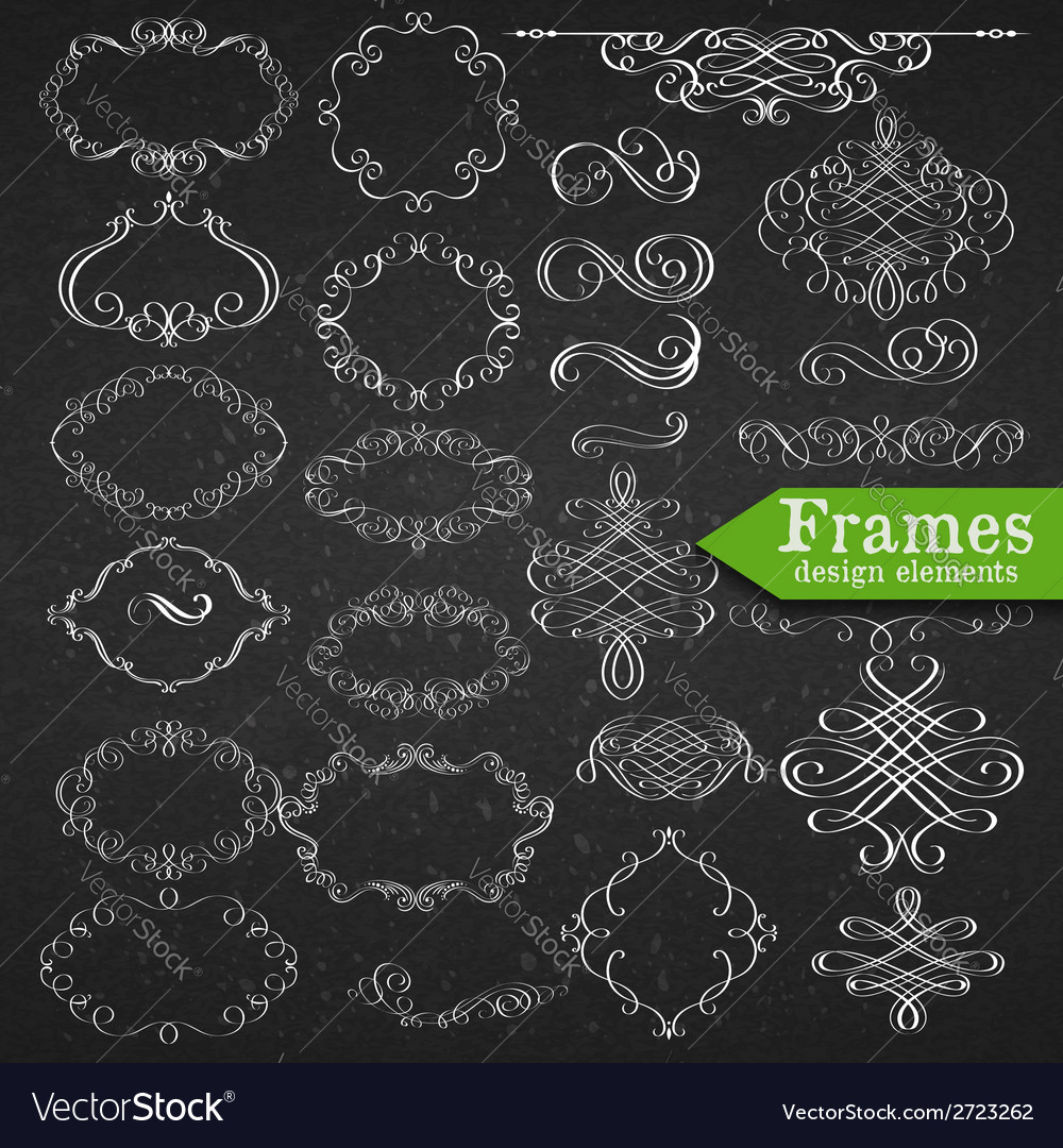 Set of graphic elements for design vector | Price: 1 Credit (USD $1)