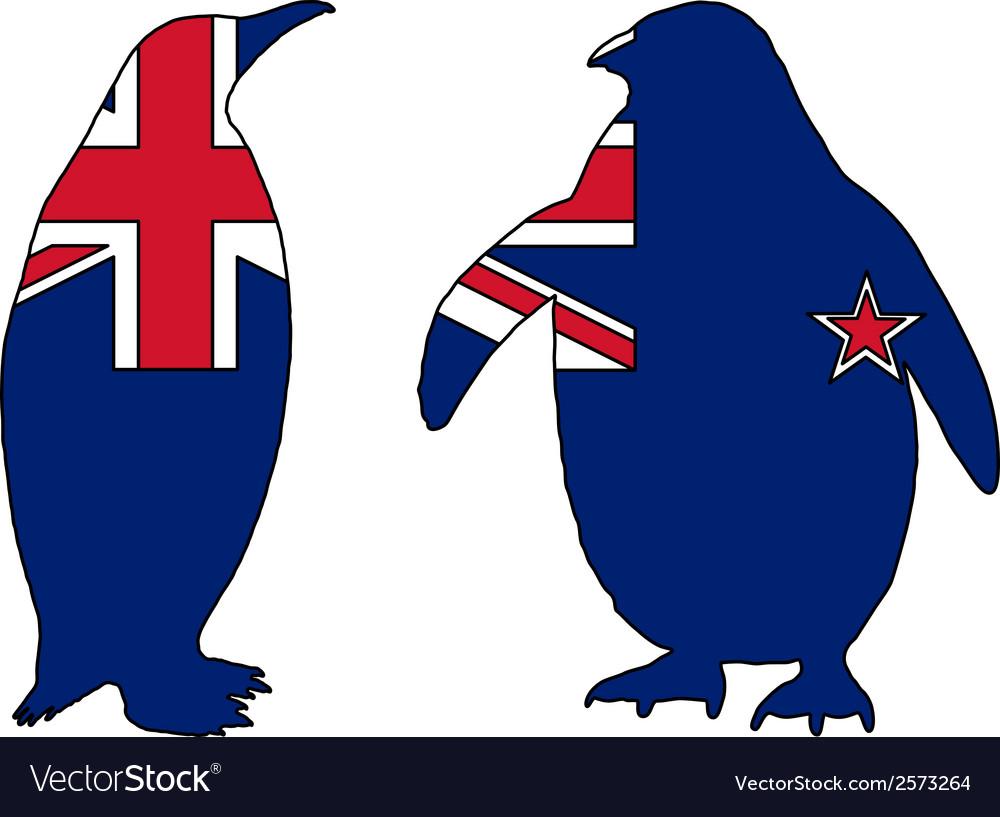 Penguin new zealand vector | Price: 1 Credit (USD $1)